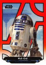 Star Wars Galactic Files (2018) ORANGE PARALLEL BASE ESB-23 / R2-D2