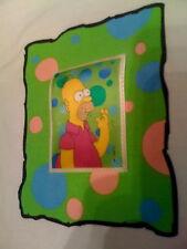 UNIQUE Rare Simpsons Homer Donut obsessed man lenticular t-shirt shirt