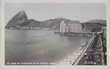 c1950s Praia do Flamenco Rio De Janeiro Brazil real photo postcard