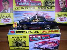 Corgi 497 Man From Uncle, Waverley Ring & Box - Superb!