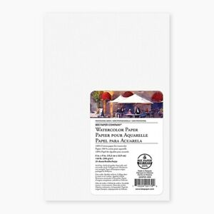 25Pk Bee Paper Rag Watercolor 140lb Cold Press 6X9 Sheets