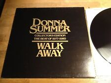 """DONNA SUMMER """"WALK AWAY -COLLECTORS EDITION THE BEST OF"""" CASABLANCA RECORDS NCB*"""