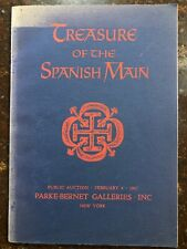 Treasure Of The Spanish Main Parke Bernet Galleries 1967 Auction Catalog