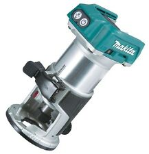 Makita Laminate Router Trimmer 18V Brushless Motor SkinOnly Shaft Lock JAP Brand