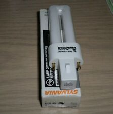 6 Dulux 5 Watt T4 Single Compact Fluorescent Bulb by SYLVANIA