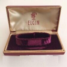 Scatola ELGIN Vintage Watch Box 6 11 cm