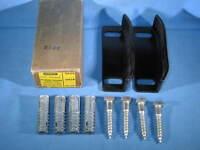 STANLEY 2550 Steel Japanned Single Guide Sliding Door Floor Guide US1B - NEW USA