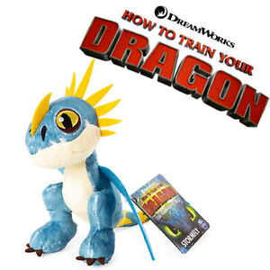 """HOW TO TRAIN YOUR DRAGON SOFT PLUSH TOY 8"""" STORMFLY DREAMWORKS SPIN MASTER"""