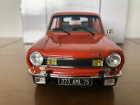 RARE Otto Mobile 1:18 - TALBOT SIMCA 1100 TI Orange - OT118 LTD Otto Models