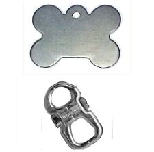 Brass Dog Tags & Charms