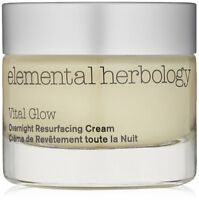 Elemental Herbology - Vital Glow Overnight Resurfacing Cream - 1.7 Fl Oz - New