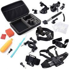 GoPro COMBO 13in1 Accessori Kit EROE 2,3,3 +,4 Shockproof Travel Case Large