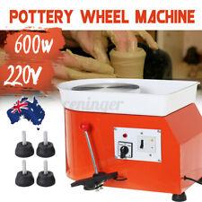 600W 25CM Electric Pottery Wheel Machine Ceramic Work Clay Art Craft Teaching Ω