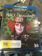 disney alice in wonderland 3D bluray