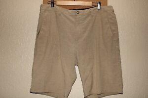 """Volcom Hombre 38"""" Cintura 4-way Elástico Shorts Surf / Natación Combinado Envío"""