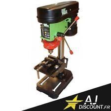 Perceuse à colonne électrique 500W avec laser et étau - Foreuse sur colonne