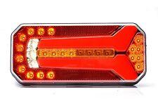 LED Rückleuchte L/R Blinker Lauflicht (6 Funktionen) 236 x 104mm LKW Anhänger W7