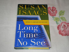 Long Time No See by Susan Isaacs   *SIGNED*
