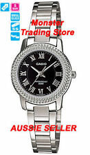 Casio Stainless Steel Case Women's Analogue Wristwatches