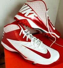 43c5e6e97 NIKE Vapor Pro 3 4 Destroyer Football Cleats Red   White Size 17 Athletic  Shoes