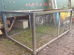 Transit steel mesh dog rabbit tortoise cage