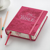 My Creative Bible Pink LuxLeather Hardcover KJV HOLY BIBLE BRAND NEW!!!