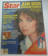 Star Magazine Pamela Sue Martin & Jeane Dixon April 1985 070715R