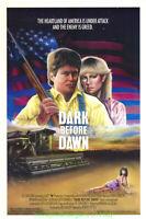 DARK BEFORE DAWN MOVIE POSTER Original 27x41 Folded One Sheet Ron Gibson