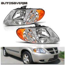 Headlights Assembly for 2001-2007 Dodge Caravan Chrysler Town & Country Headlamp