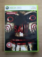 Saw The Game Uncut Version Microsoft Xbox 360 Game FREE P&P