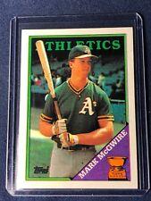 1988 Topps Baseball Cards For Sale Ebay