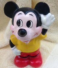 "Vintage Disney Productions  ""Mickey Mouse"" Ceramic Bank made in Japan"