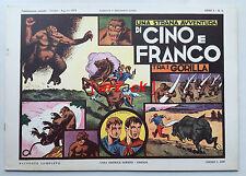 CINO e FRANCO 5 Cino e Franco tra i gorilla NERBINI 1973 ristampa anastatica