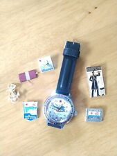 "Russian military ""Vostok"" Amphibian Automatic Watch 2003 Navy Warship & Pins!"