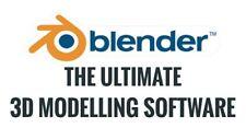 Blender 3D Graphics Design Animation Studio Pro Professional Software CAD RENDER
