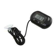 Water Submersible Meter Reptile Thermometer Little Sensor Wired Temperature