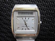 Very Rare Vintage   Seiko H357-5040 LCD Digital Watch - 1980's James Bond Style