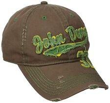 John Deere Men's 37 Cap, Brown, One Size