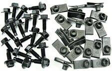 "GM Truck Body Bolts & U-nut Clips- 5/16"" x 1"" Long- 1/2"" Hex- 40 pcs- #410F"