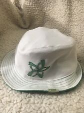 ea9908cf353d6 Puma fedora hat mens S M White With Green Pumas Creating A Star