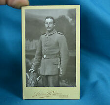 CDV Foto German Army Deutsches Heer Soldier 95th Infantry Regiment Gotha c1900