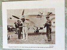 m17a7 book picture ephemera 1930s f r d swain r a f squadron leader