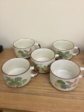 COLLECTABLE SOUP BOWLS (5)