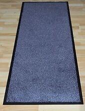 Fancymats® Large Heavy Duty White / Grey Non Slip PVC Backing Doo