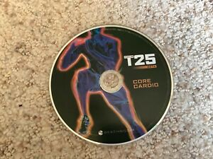 Focus T25 Beta CORE CARDIO Home Workout Replacement DVD Disc Only Beachbody
