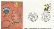 FIRST DAY COVER / PREMIER JOUR FRANCE 1991 / SPORT / TENNIS ROLAND GARROS PARIS