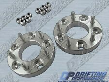 """2pcs Universal 1"""" (25mm) Wheel Adapters Spacers 5x114.3 to 5x114.3 Stud 12x1.5"""