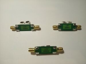 Low Pass Filter (10, 30, 50) MHz, (0...100)W, For Rf Mixer,Transceiver, Antenna