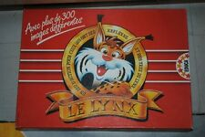 Jeu de société Le Lynx -  Jeu de réflexes et d'observation -Pastilles remplacées