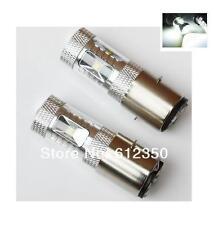 2 AMPOULE H6 / H6M / BA20D 30W A 6 LED CREE SAMSUNG DE 5W